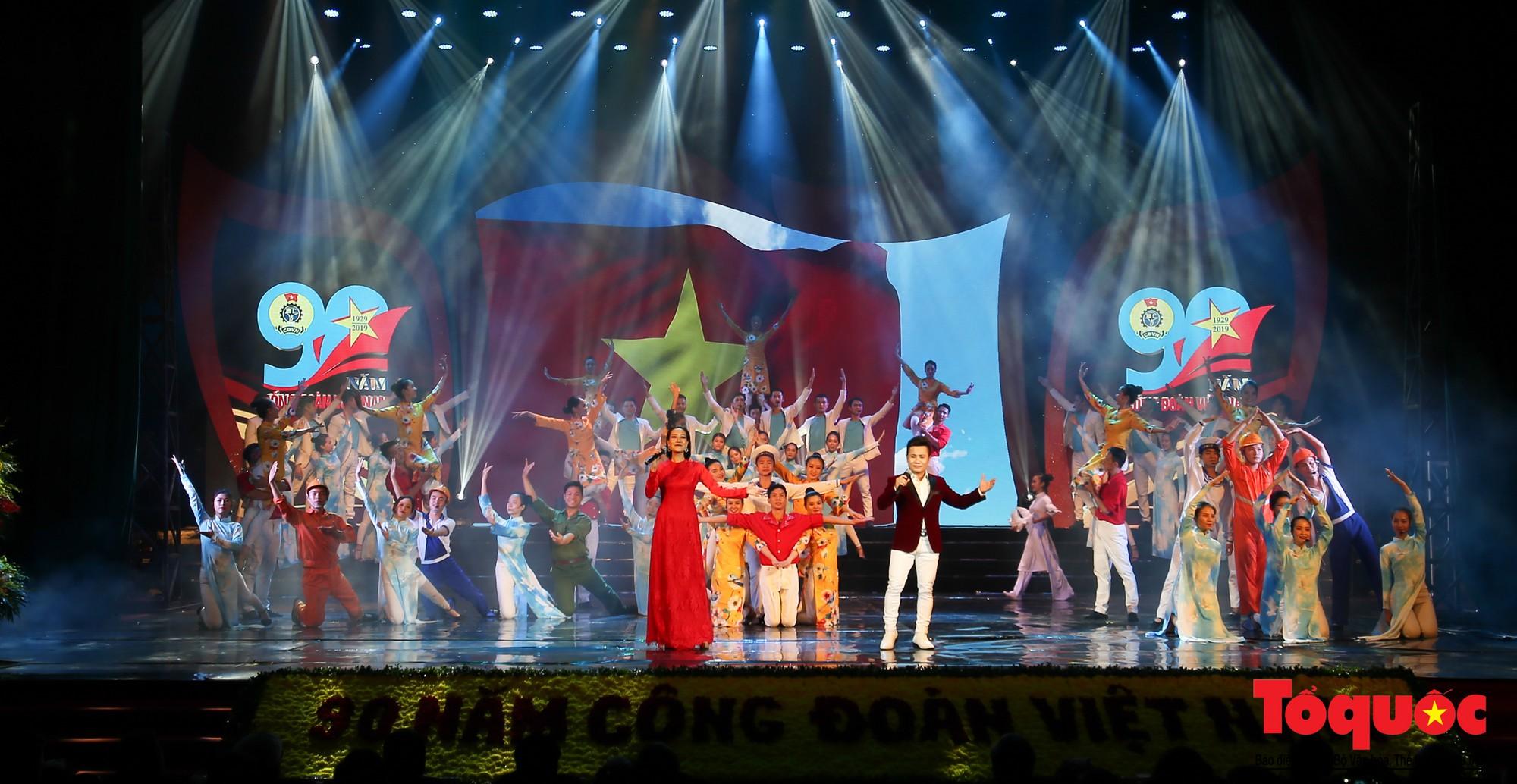 Long trọng Lễ kỷ niệm 90 năm Ngày thành lập Công đoàn Việt Nam (6)