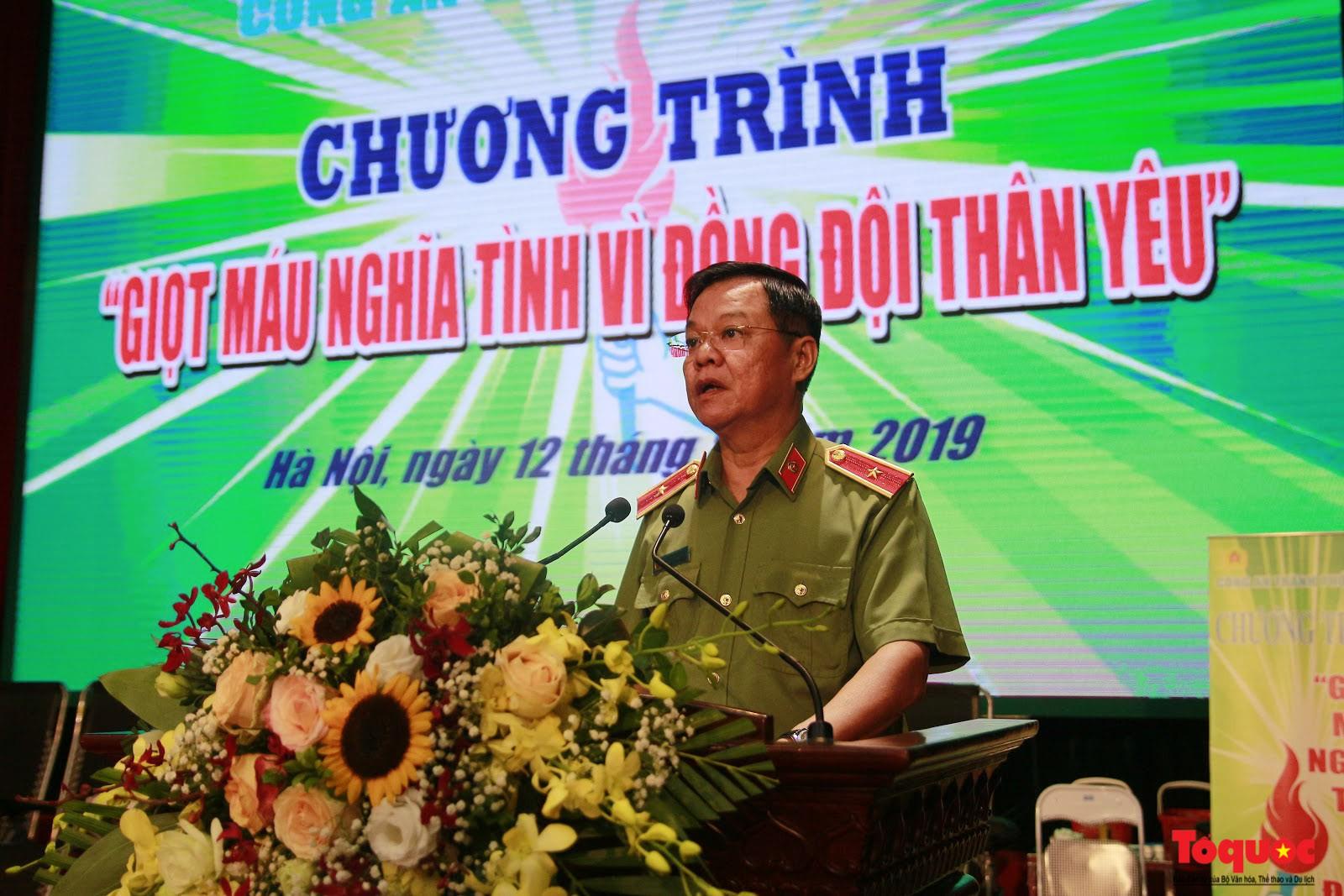 Cán bộ, chiến sỹ CATP Hà Nội hiến máu nghĩa tình vì đồng đội thân yêu (10)