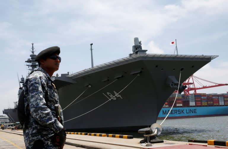 Tau Nhat Ban tai Sri Lanka Reuters
