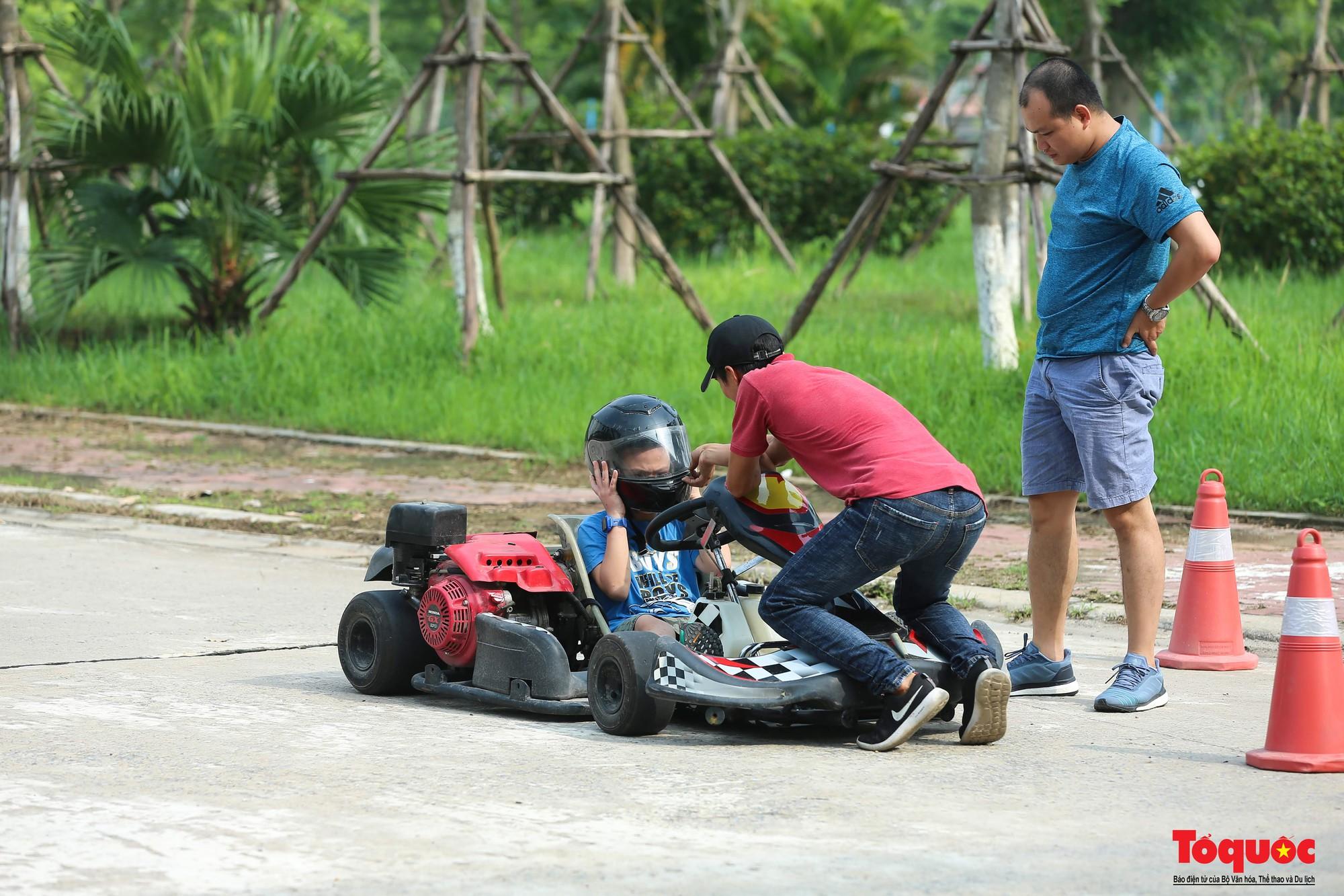 Lò đào tạo các tay đua F1 nhí đầu tiên tại Hà Nội (18)