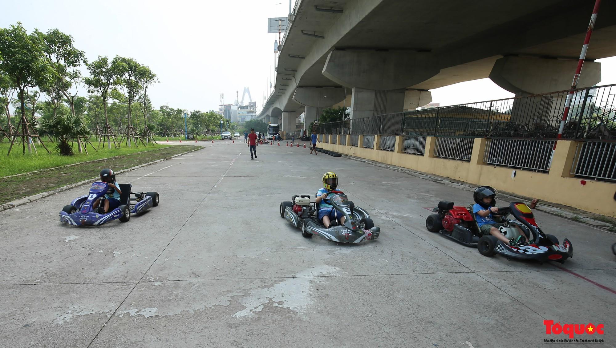 Lò đào tạo các tay đua F1 nhí đầu tiên tại Hà Nội (19)