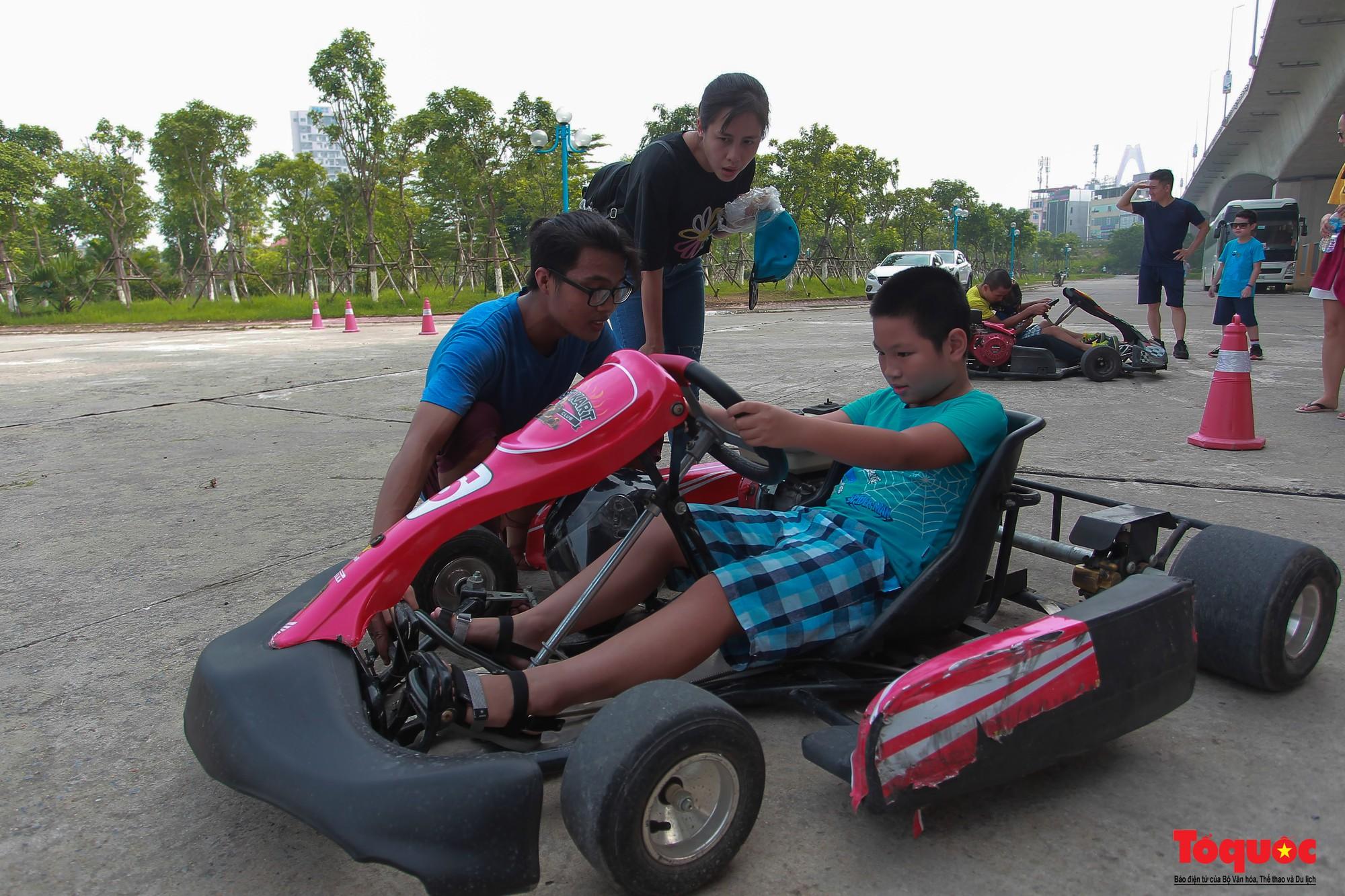 Lò đào tạo các tay đua F1 nhí đầu tiên tại Hà Nội (7)