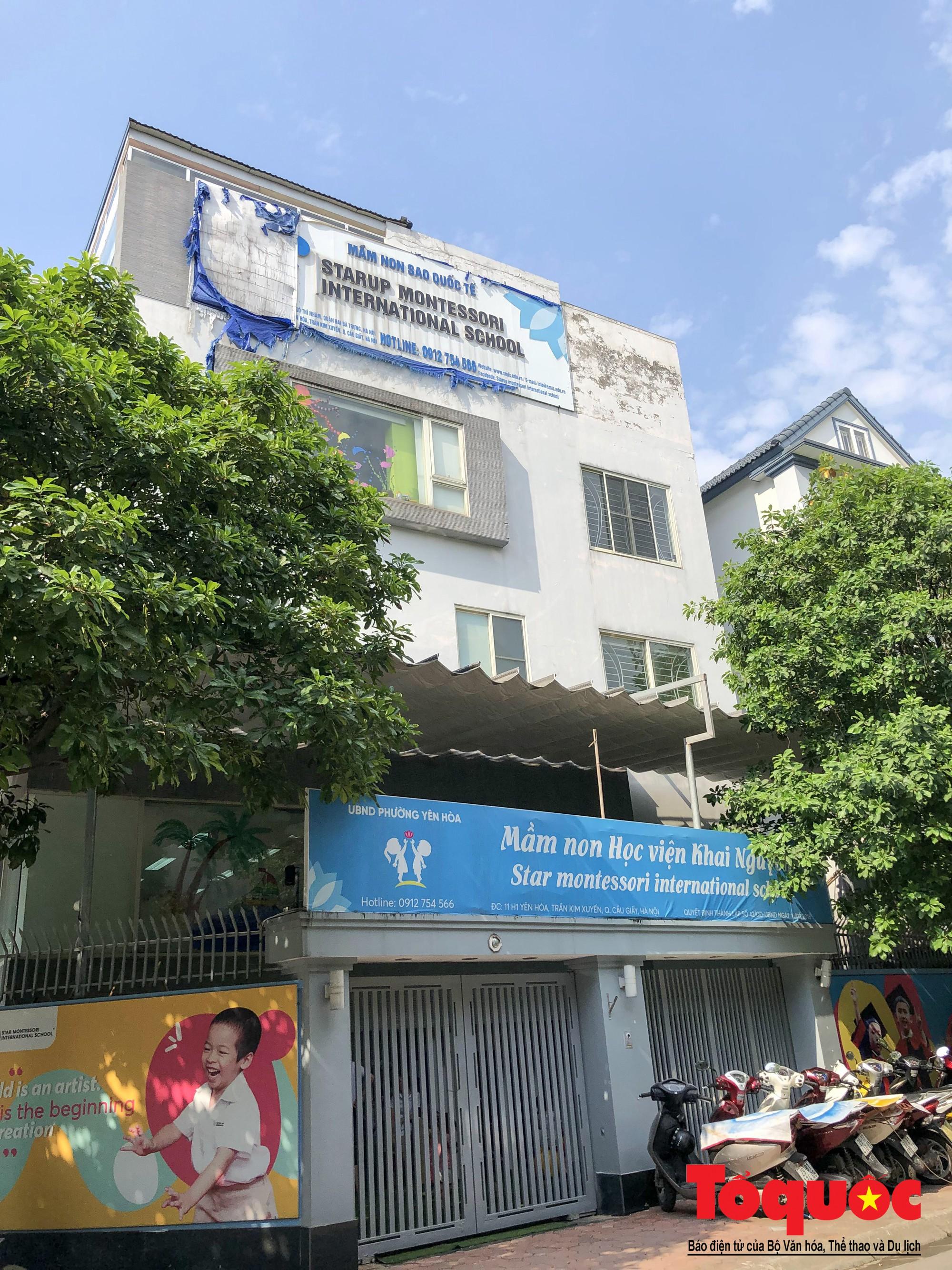 Loạn danh xưng trường quốc tế trên địa bàn quận Cầu Giấy (4)