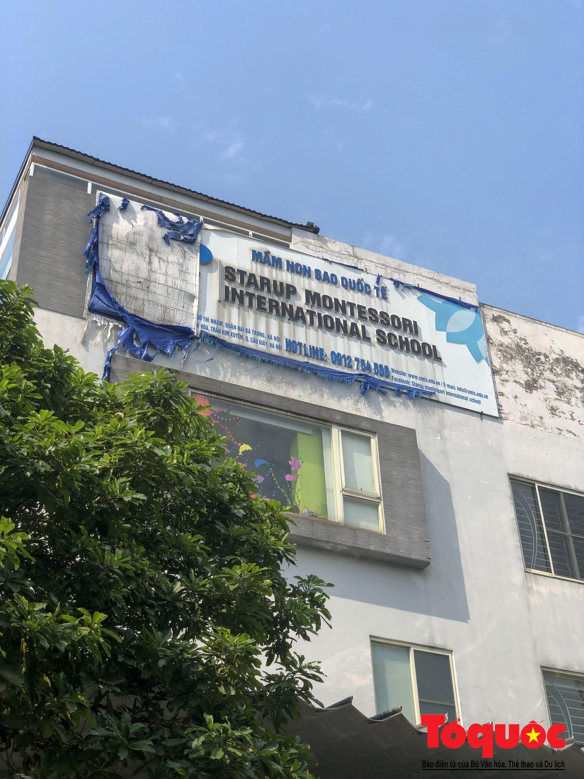 Loạn danh xưng trường quốc tế trên địa bàn quận Cầu Giấy (5)
