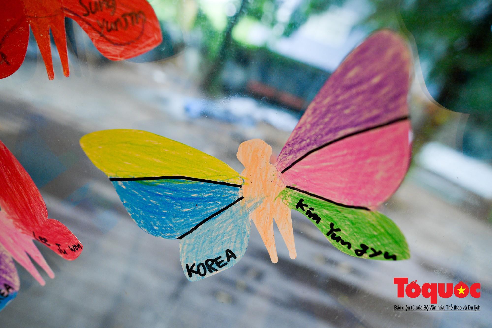 Hàng ngàn cánh bướm mang thông điệp hoà bình giữa lòng Hà Nội10