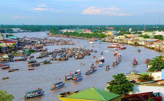 Ngay hoi Cho noi Cai rang 9-7-2016
