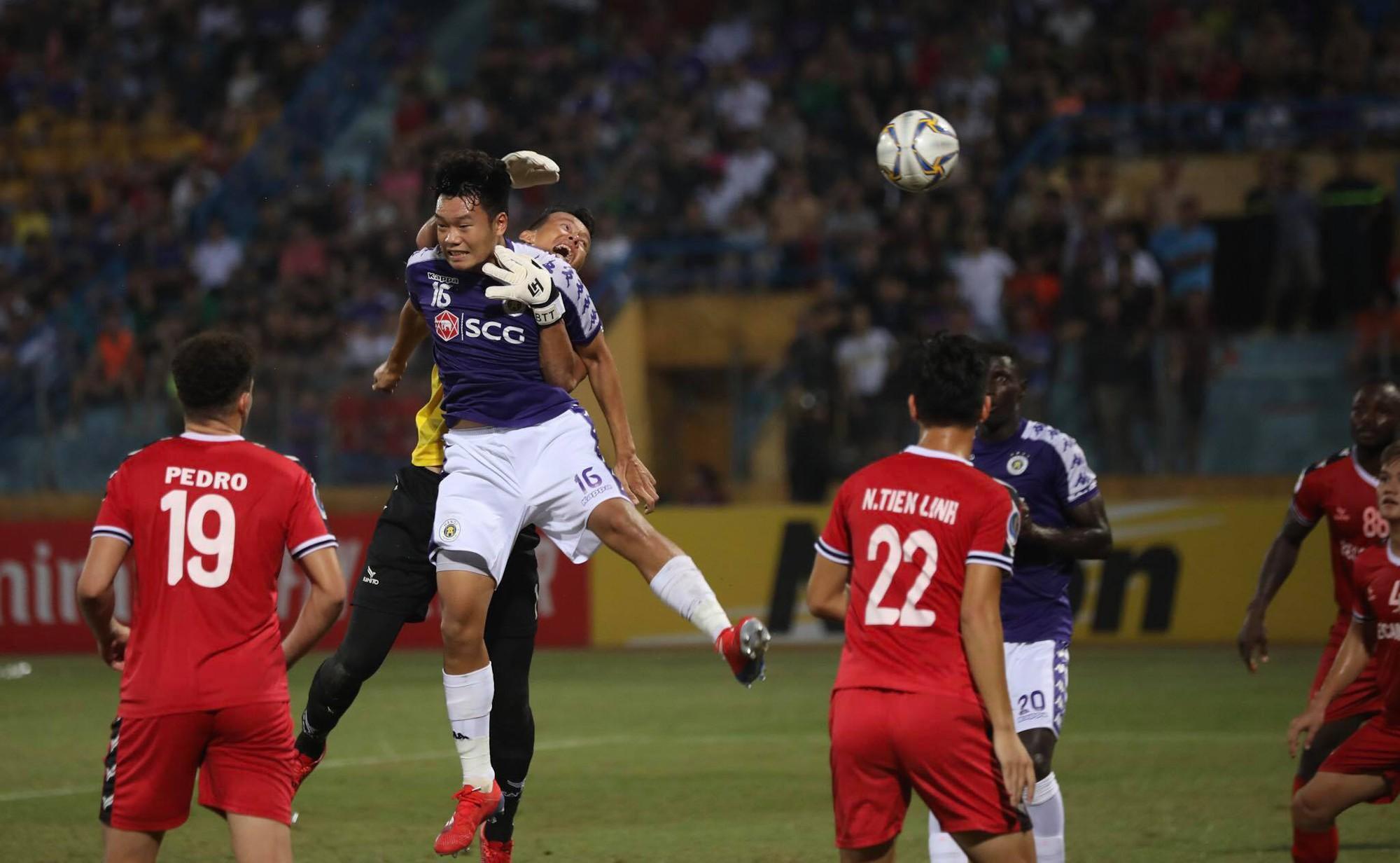 Hình ảnh: Đánh bại Bình Dương, CLB Hà Nội gặp Altyn Asyr ở bán kết AFC Cup số 2