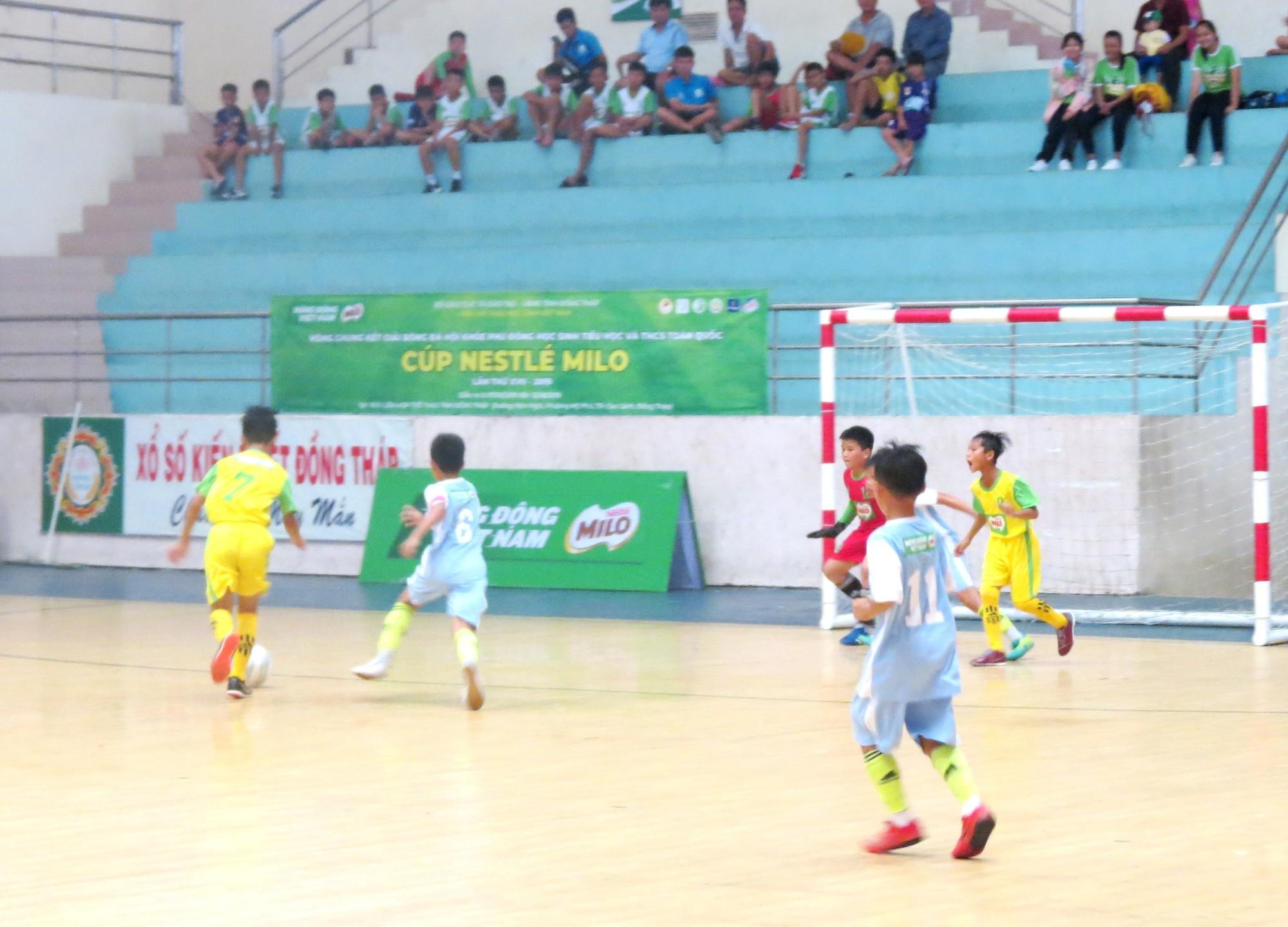 Khai mạc vòng chung kết Giải Bóng đá Hội khỏe Phù Đổng học sinh toàn quốc Cúp Nestlé Milo lần thứ 17 năm 2019 - Ảnh 4.