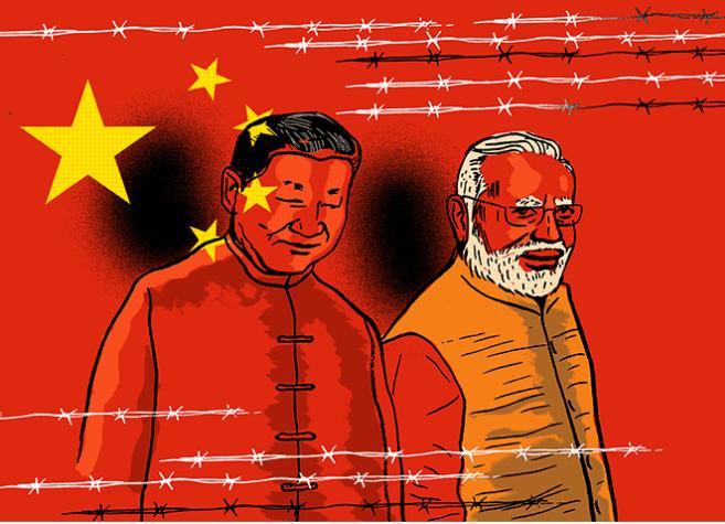 China-India J&K