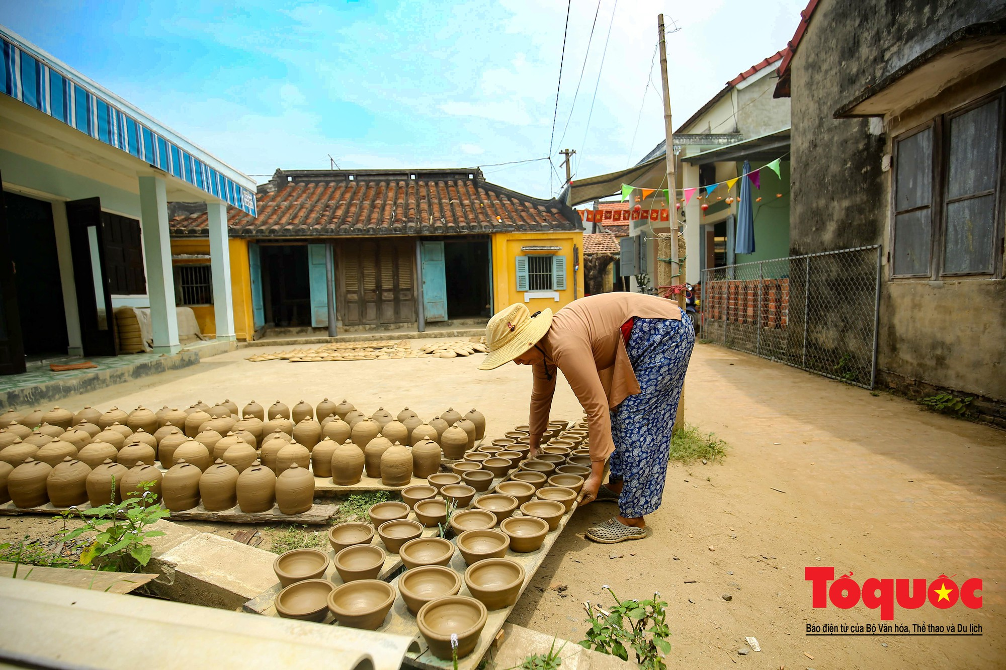 Vẻ đẹp trầm mặc của làng gốm gần nghìn năm tuổi bên dòng sông Thu Bồn15