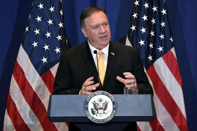 Ngoai truong My Mike Pompeo Reuters