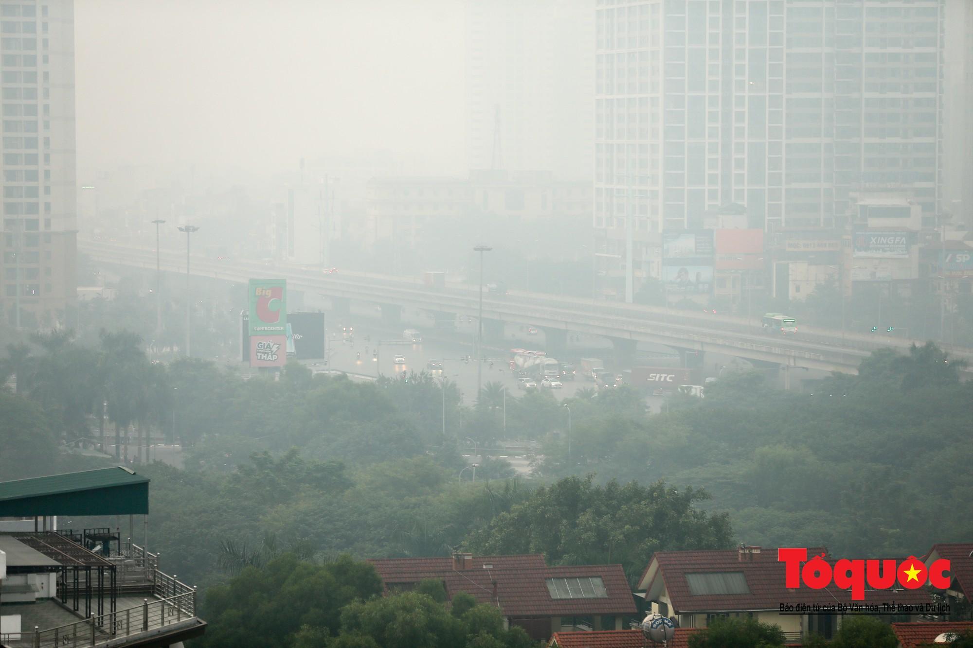 không khí Hà Nội ô nhiễm nhất thế giới8