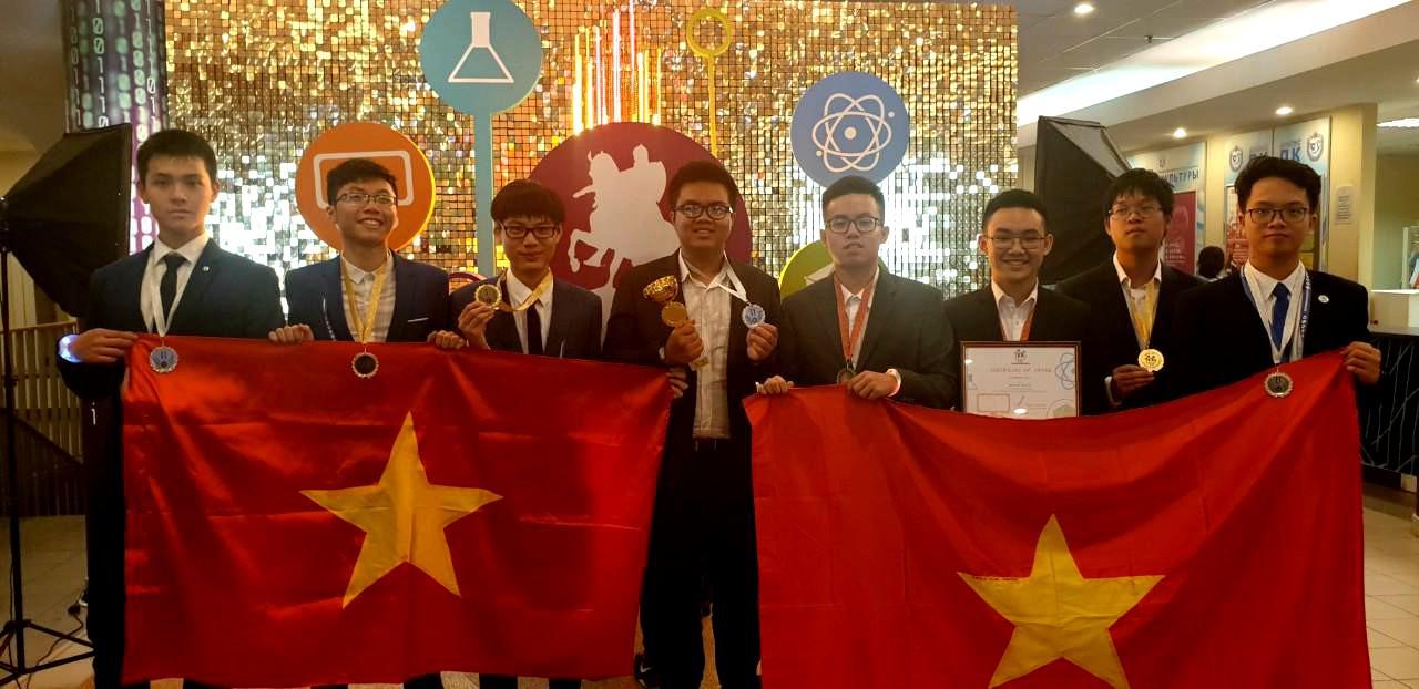 Đội tuyển HN đoạt giải IOM 2019