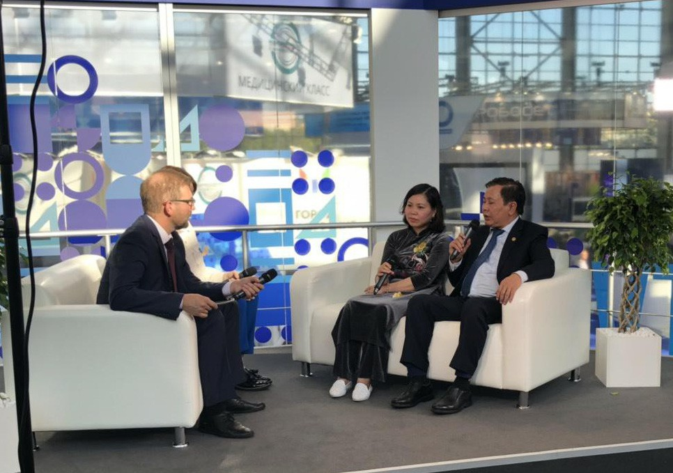 PGĐ Lê Ngọc Quang trả lời phỏng vấn