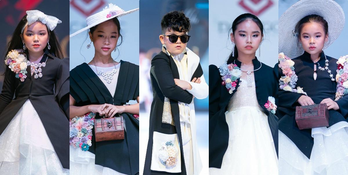 Từ trái qua - Hồ Phương Vy, Trần Phạm Minh Anh, Phú Thái, Lý Diệp Chi, Trần Phương Anh