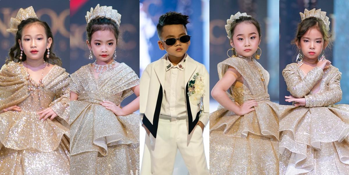 Từ trái qua - Lee Sumi, Vũ Ngọc Bảo Hân, Nguyễn Đức Đăng, Tăng Bảo Hà, Nguyễn Hoàng Bảo Anh