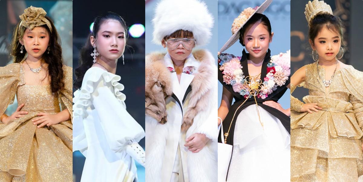 Từ trái qua - Nguyễn Ngọc Phương Uyên, Tạ Hoàng Anh, Cao Hữu Nhật, Đặng Minh Anh, Lê Hà An