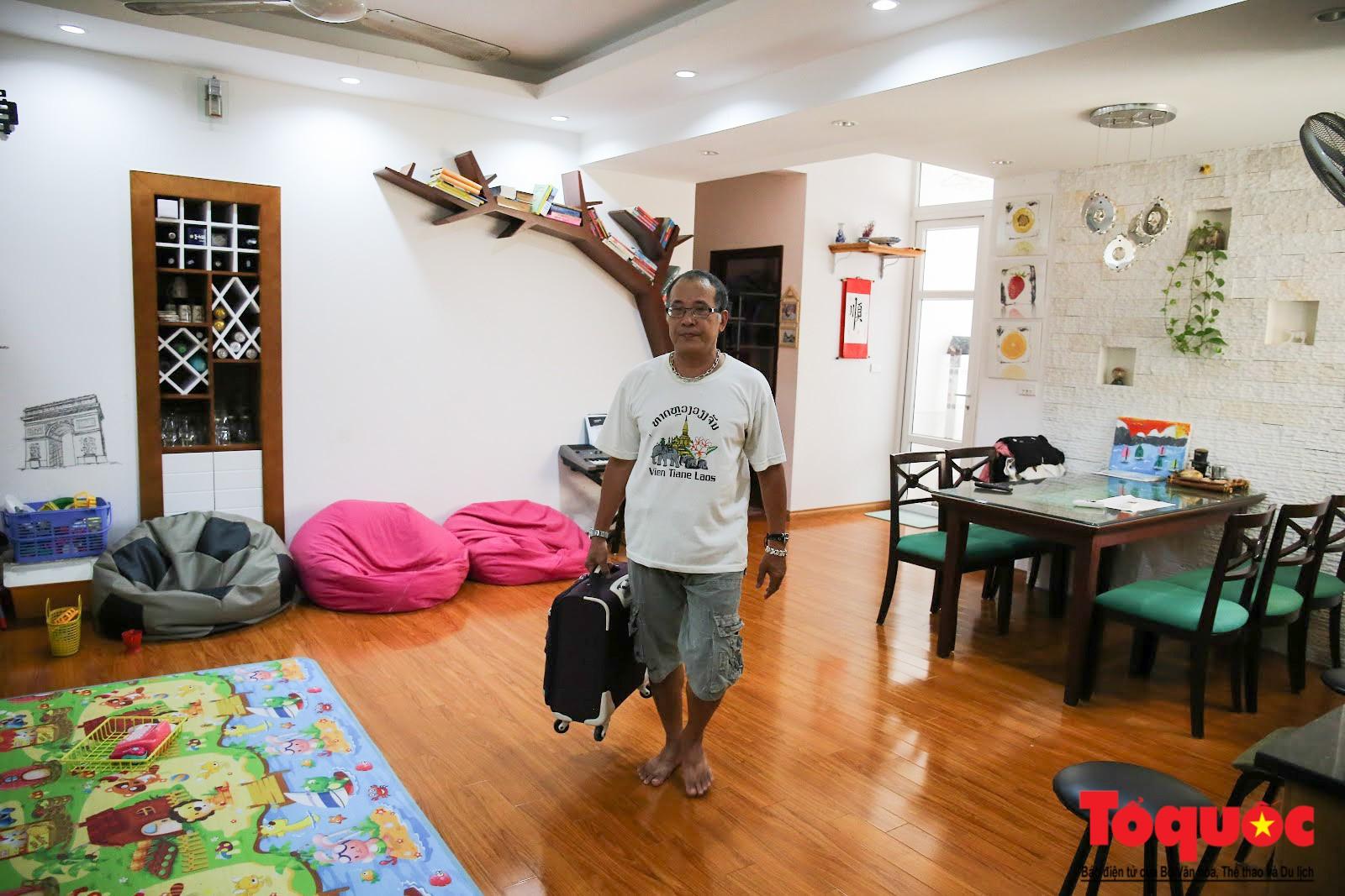 Cám cảnh có nhà mà không thể ở của người dân Hạ Định sau vụ cháy kho Rạng Đông (1)
