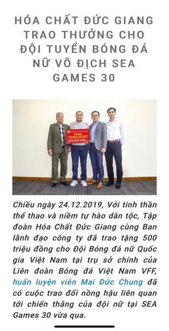 """Góc nhìn tài chính từ vụ """"xù"""" tiền thưởng tuyển nữ Việt Nam: Yêu cầu vô lí và dễ dính kiện - Ảnh 1."""