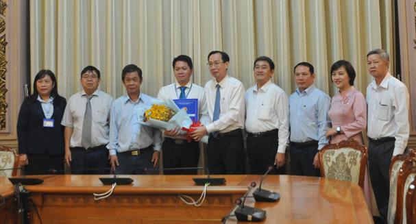 Bổ nhiệm Phó Hiệu trưởng Trường Đại học Sài Gòn - Ảnh 1.