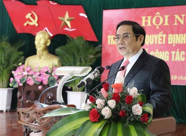 Ông Phạm Minh Chính: Học viện Chính trị quốc gia Hồ Chí Minh cần chú trong nâng cao chất lượng đào tạo, rèn luyện tư tưởng đạo đức, lối sống cho cán bộ - Ảnh 1.