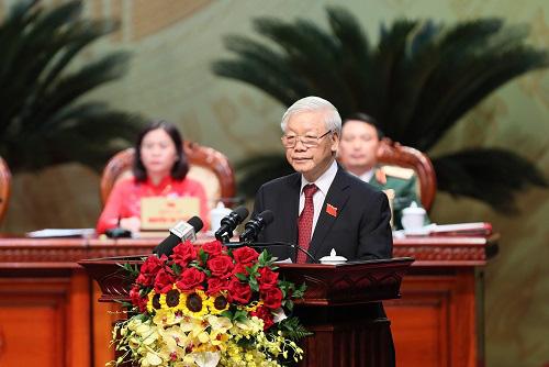 Toàn văn phát biểu của Tổng Bí thư, Chủ tịch nước tại Đại hội Đảng bộ Hà Nội - Ảnh 1.