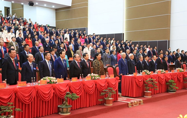 Điện Biên, Thái Bình, Bắc Giang khai mạc Đại hội đại biểu Đảng bộ nhiệm kỳ 2020-2025 - Ảnh 3.