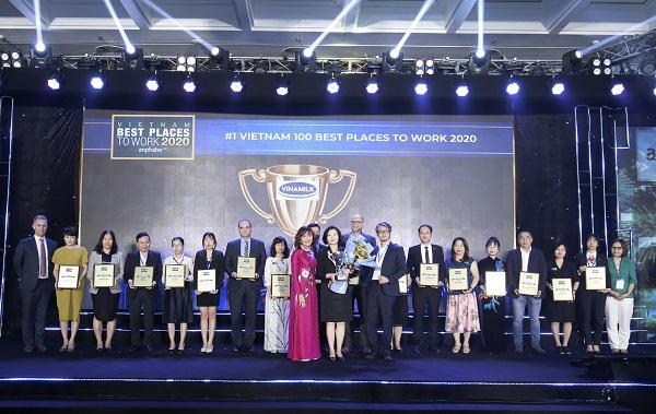Vinamilk lần thứ 3 liên tiếp được bình chọn là nơi làm việc tốt nhất Việt Nam - Ảnh 1.