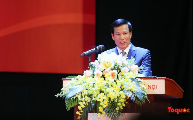 Bộ trưởng Nguyễn Ngọc Thiện: Nỗ lực xây dựng trường Đại học Văn hóa là ngôi trường đầu ngành đào tạo văn hóa, nghệ thuật và du lịch - Ảnh 1.