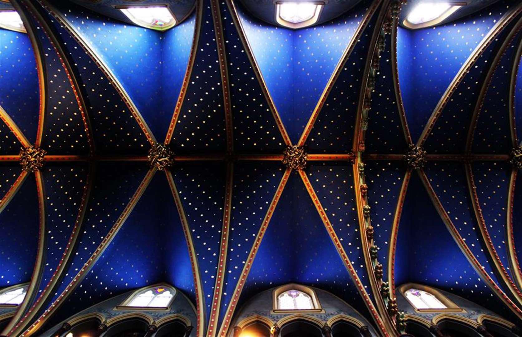"""""""Choáng ngợp"""" trước những trần nhà đẹp nhất thế giới - Ảnh 3."""