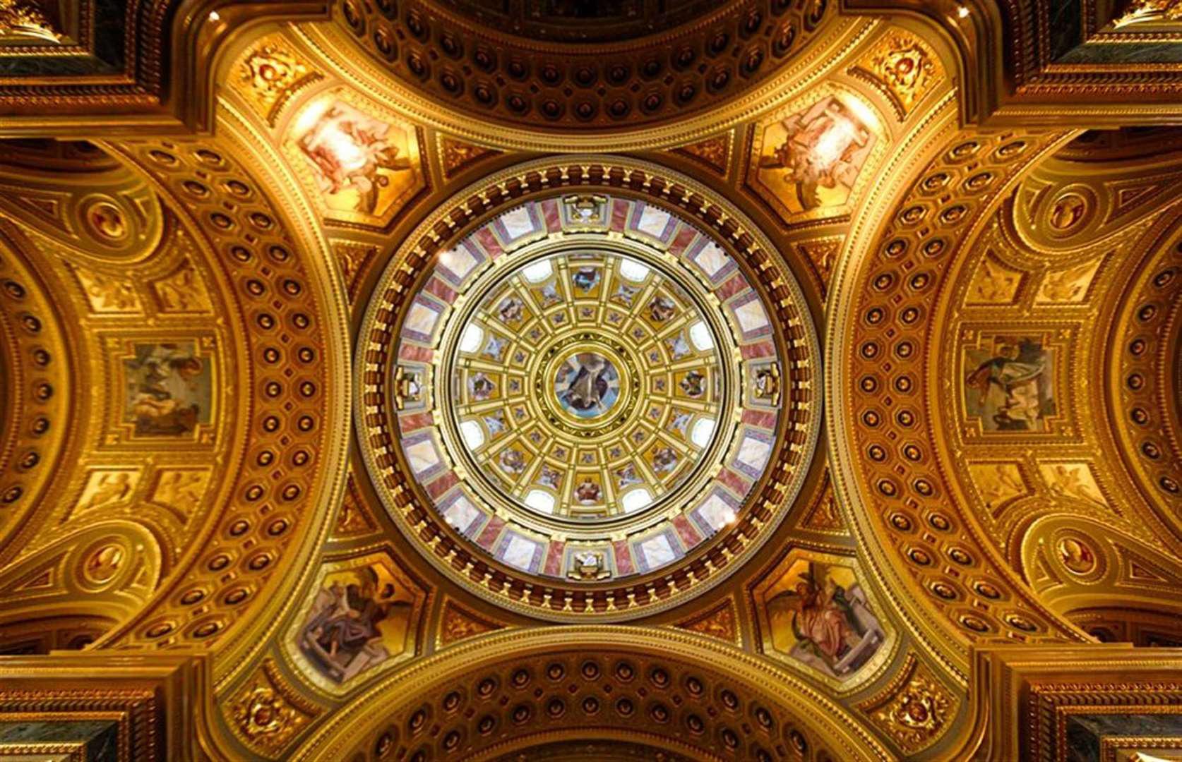"""""""Choáng ngợp"""" trước những trần nhà đẹp nhất thế giới - Ảnh 4."""
