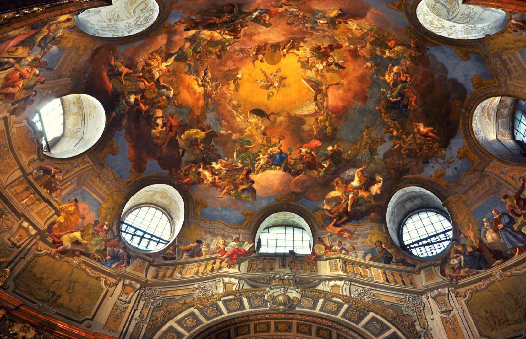"""""""Choáng ngợp"""" trước những trần nhà đẹp nhất thế giới - Ảnh 14."""