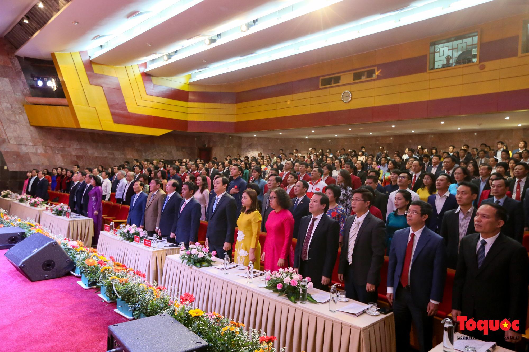 Chùm ảnh: Đại hội Thi đua yêu nước Bộ Văn hóa, Thể thao và Du lịch - Ảnh 2.