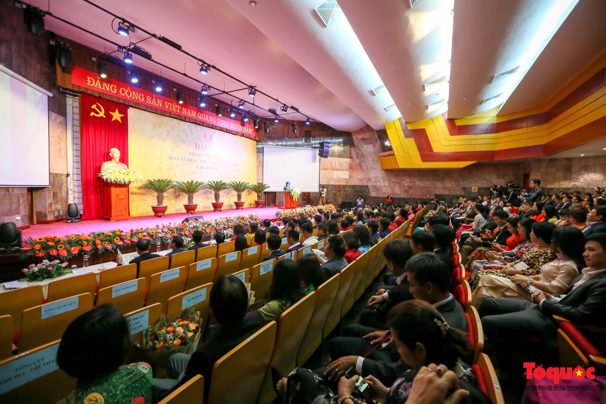Chùm ảnh: Đại hội Thi đua yêu nước Bộ Văn hóa, Thể thao và Du lịch - Ảnh 6.