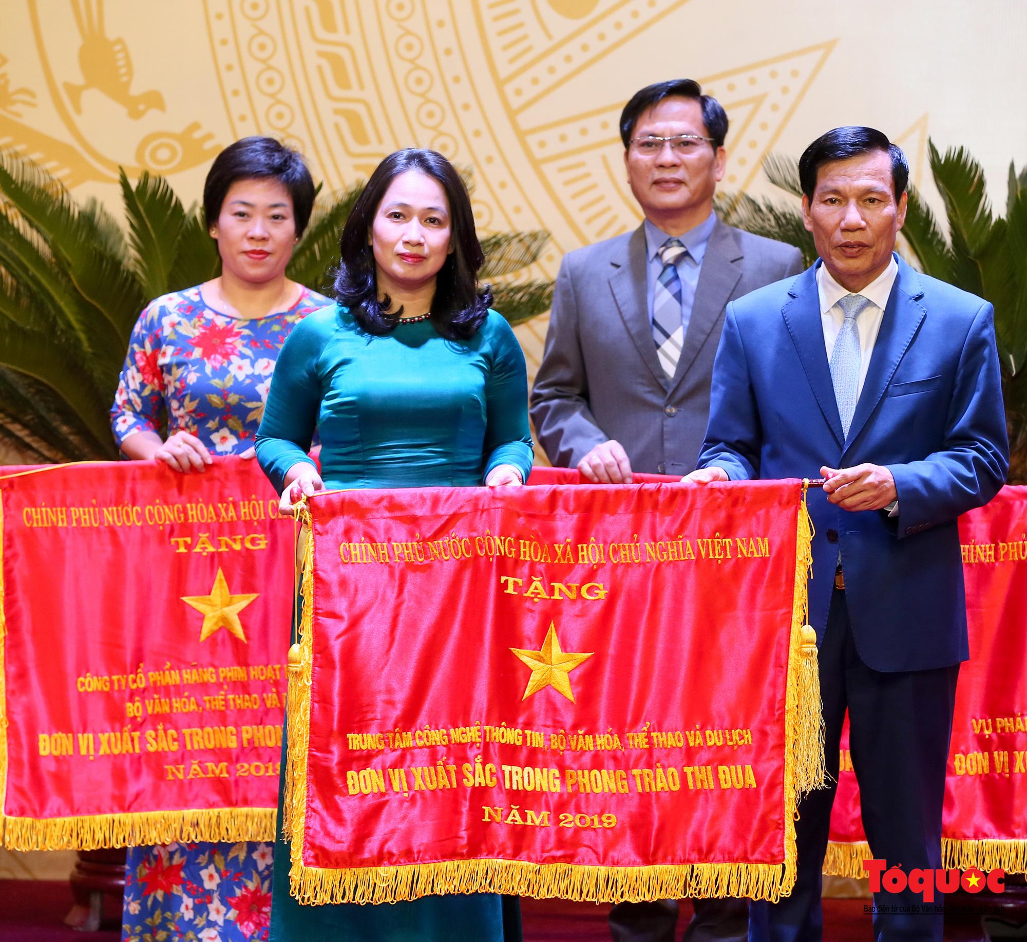 Chùm ảnh: Đại hội Thi đua yêu nước Bộ Văn hóa, Thể thao và Du lịch - Ảnh 10.