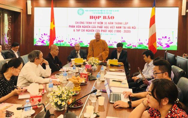 Tổ chức Hội thảo kỷ niệm 30 năm thành lập Phân viện Nghiên cứu Phật học Việt Nam tại Hà Nội và Tạp chí Nghiên cứu Phật học - Ảnh 1.