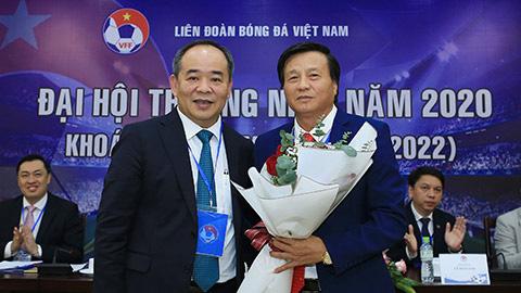 Ông Lê Văn Thành đắc cử vị trí Phó Chủ tịch Tài chính VFF - Ảnh 1.