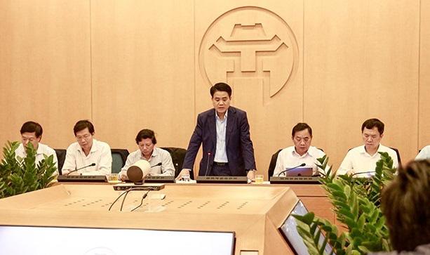 """Chủ tịch Hà Nội: """"Tình hình hiện nay là nguy hiểm và hết sức phức tạp"""" - Ảnh 1."""