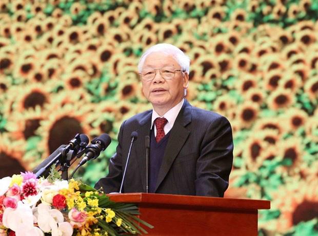 Không có một lực lượng chính trị nào khác, ngoài Đảng Cộng sản Việt Nam có đủ bản lĩnh, uy tín và khả năng lãnh đạo đất nước vượt qua mọi khó khăn - Ảnh 1.