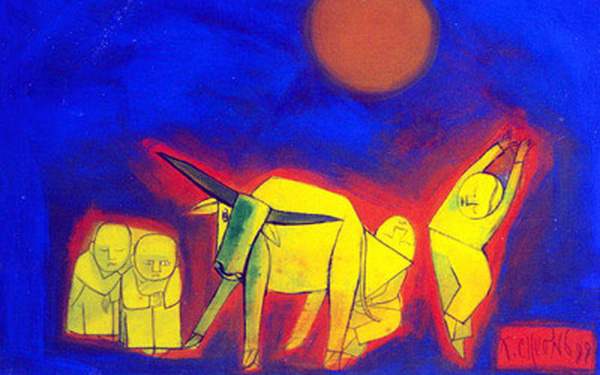 Lùi thời gian tổ chức Triển lãm tác phẩm của các họa sĩ đương đại hàng đầu trên thị trường mỹ thuật Việt Nam - Ảnh 1.