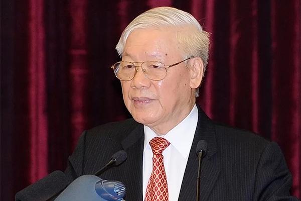 Tổng bí thư, Chủ tịch nước Nguyễn Phú Trọng kêu gọi toàn thể dân tộc Việt Nam cùng chung sức, đồng lòng chống đại dịch Covid-19 - Ảnh 1.
