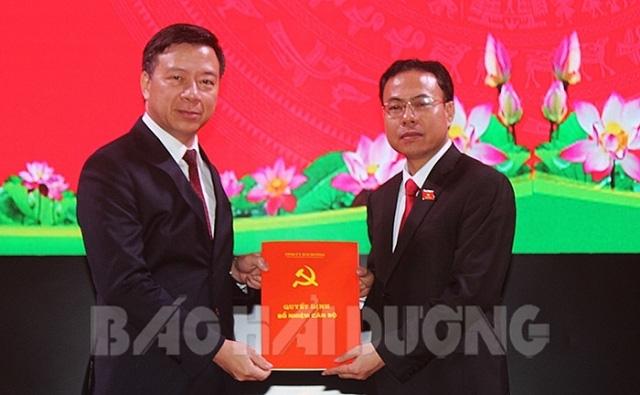 Nhân sự mới 2 tỉnh Hải Dương, Nghệ An - Ảnh 1.