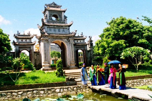 Chọn biểu tượng (logo) và khẩu hiệu (slogan) Du lịch Hưng Yên - Ảnh 1.