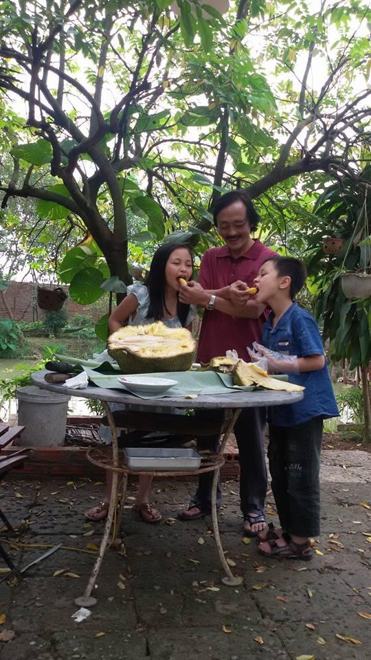 Nhà vườn 10.000m2 của nghệ sĩ Giang còi ngập hoa và trái cây - Ảnh 11.
