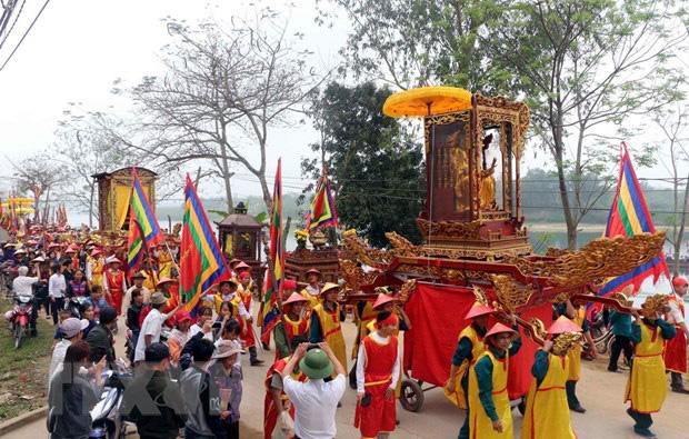 Nghệ An kiểm tra việc chấp hành các quy định của pháp luật về công tác quản lý và tổ chức lễ hội - Ảnh 1.