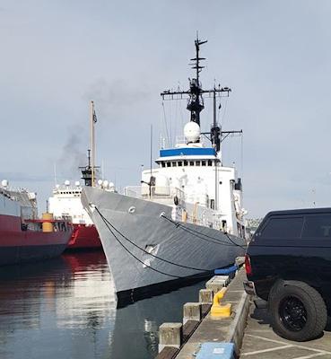Việt Nam thông tin việc sắp nhận bàn giao tàu tuần tra cỡ lớn từ Mỹ - Ảnh 1.