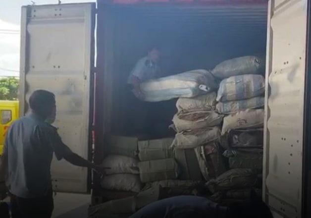 """Phát hiện khoảng 100 tấn dược liệu nhập từ Trung Quốc """"đội lốt"""" hàng nông sản   - Ảnh 1."""