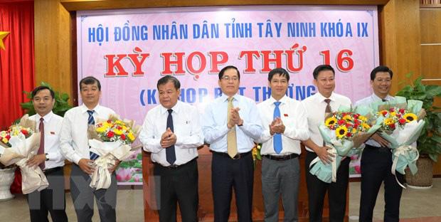Nhân sự mới tỉnh Nghệ An, Quảng Trị, Yên Bái, Tây Ninh - Ảnh 4.
