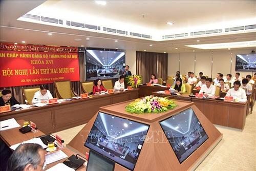 Đảng bộ Hà Nội tập trung thảo luận xem xét nhiều nội dung quan trọng - Ảnh 6.