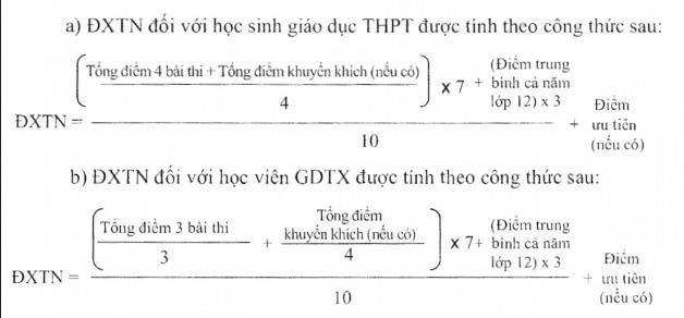 Cách tính điểm xét tốt nghiệp THPT 2020 theo Quy chế mới ban hành của Bộ GDĐT - Ảnh 1.